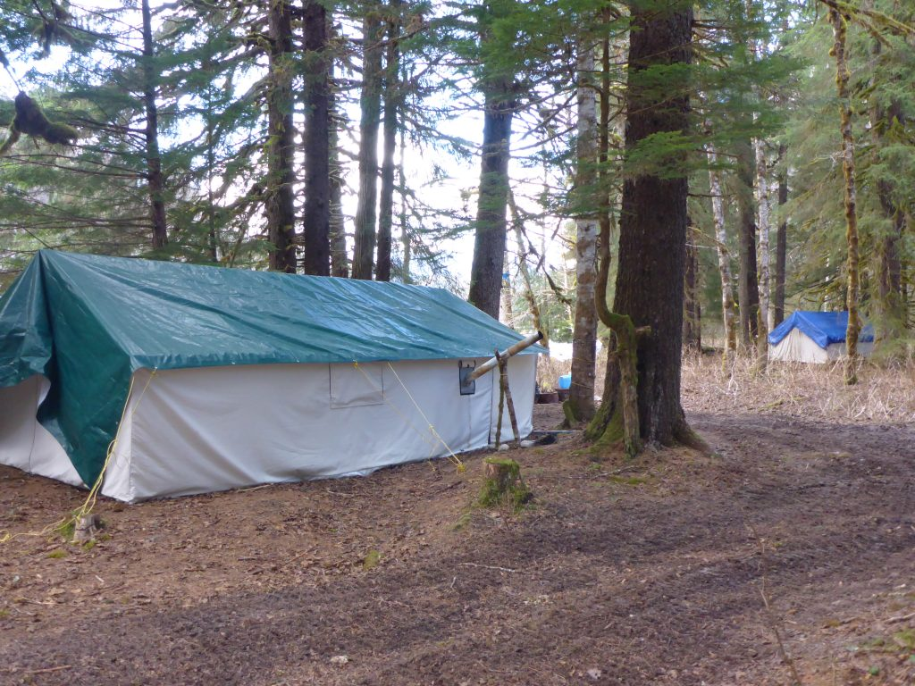 remote steelhead camps three times a year
