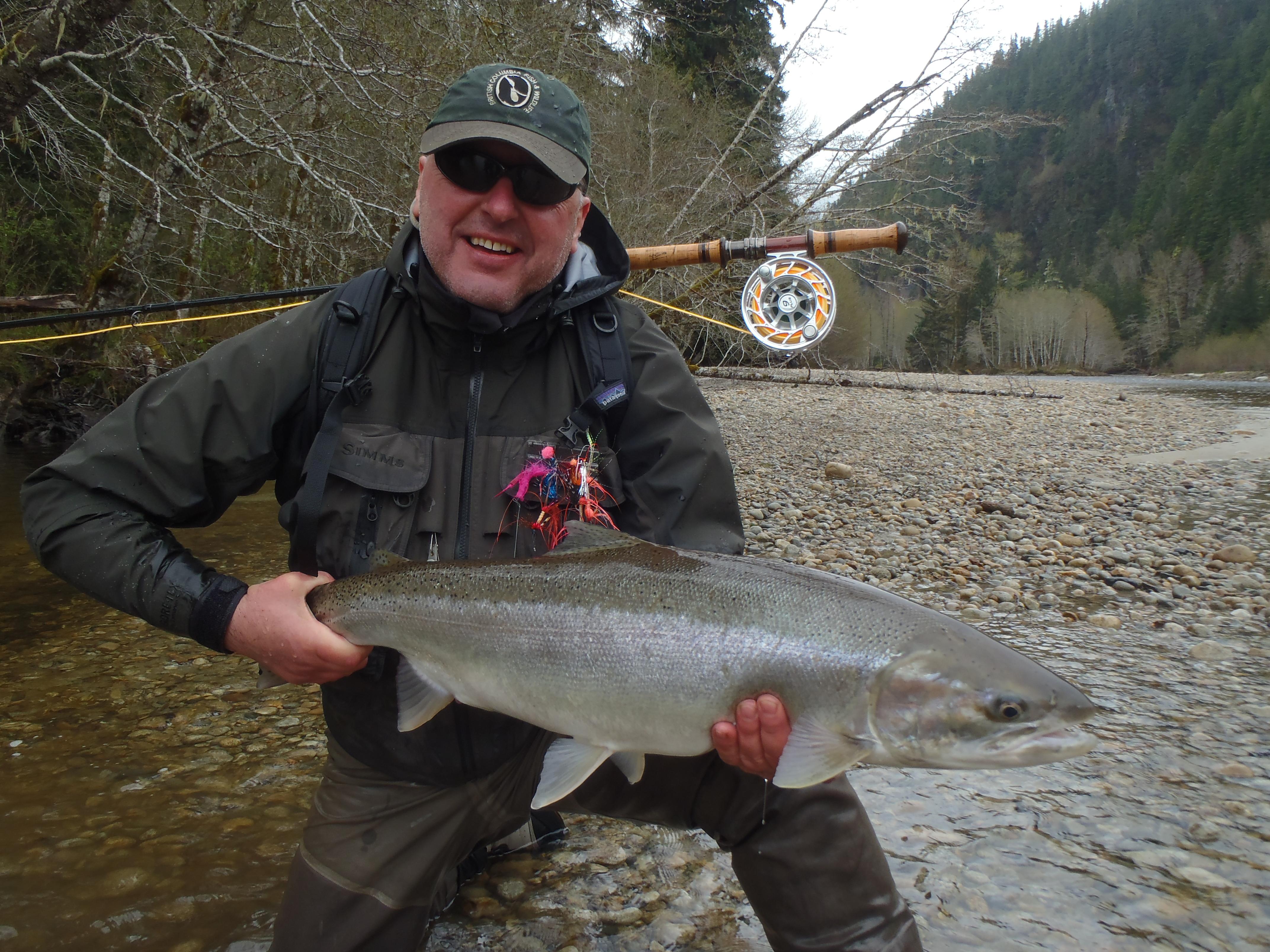 Spring steelhead fishing guided steelhead adventures for Steelhead fly fishing