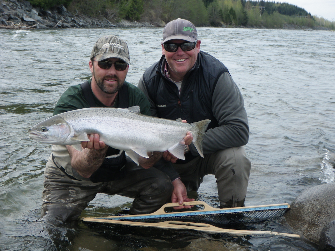 Fishing reports for the skeena river kitimat river nass for Steelhead fly fishing