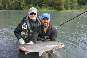 Nass river Steelhead fishing on the Fly.