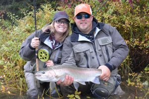 guided by gill mckean in westcoast fishing adventures in terrace bc
