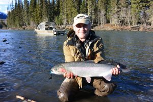 Bell Irving river steelhead