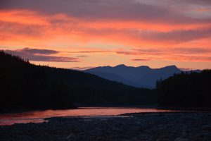 Skeena River Sunset